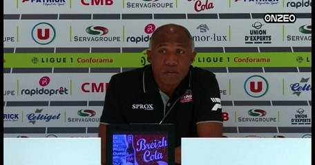 POINT PRESSE (EAG) : AVANT CAEN - GUINGAMP