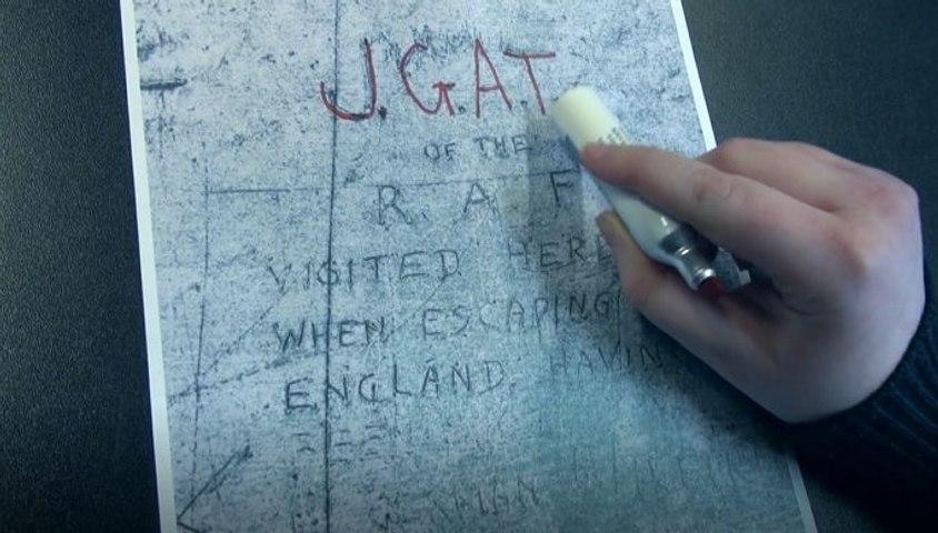 Mener l'enquête : le graffiti des Invalides | Musée de la Libération de Paris, le déménagement