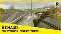 [ A CHAUD] Réouverture à la circulation du pont des Écluses entre Varangéville et Dombasle-sur-Meurthe