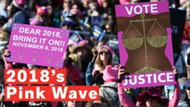 The 'Pink Wave': Record Number Of Women Battling At The Midterms