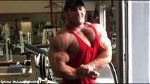31 years old Top Muscular Bodybuilder Shawn Smith Posing flexing Workout