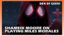 Shameik Moore On Playing Miles Morales