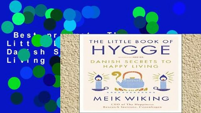 Best product  The Little Book of Hygge: Danish Secrets to Happy Living