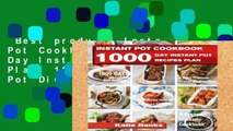 Best product  Instant Pot Cookbook: 1000 Day Instant Pot Recipes Plan: 1000 Days Instant Pot Diet