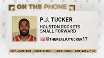 The Jim Rome Show: P.J. Tucker talks Rockets chemistry