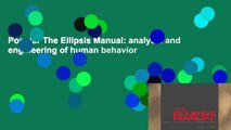 Popular The Ellipsis Manual: analysis and engineering of human behavior