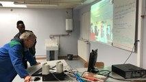 Des lycéens de Mézeray-Gabriel en visio-conférence avec l'Espagne pour un projet Erasmus +