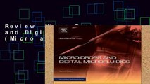 Review  Micro-Drops and Digital Microfluidics (Micro and Nano Technologies)