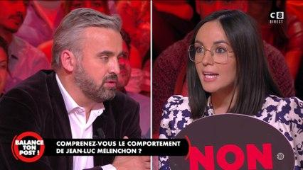 """""""Mise en scène"""", Agathe Auproux s'exprime sur les perquisitions chez Mélenchon"""