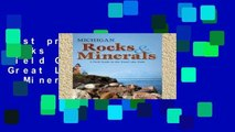 Best product  Michigan Rocks   Minerals: A Field Guide to the Great Lake State (Rocks   Minerals