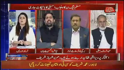 Fayyaz-ul-Hassan Strong reply to People who are Criticizing Pervaiz Elahi