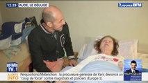 """""""Aude, le déluge"""": cet homme a sauvé in extremis sa voisine malade, prisonnière des inondations"""