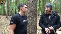 """Survival Mattin"" baut GEHEIMTUNNEL #005 | MINECRAFT Real Life | BUSHCRAFT CAMP SHELTER ÜBERNACHTUNG"