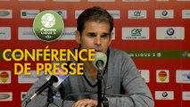 Conférence de presse US Orléans - Valenciennes FC (1-0) : Didier OLLE-NICOLLE (USO) - Réginald RAY (VAFC) - 2018/2019