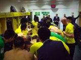 FC NANTES - TOULOUSE FC: LA JOIE DU VESTIAIRE