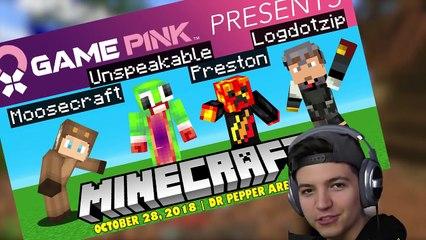 MINECRAFT 1v1v1v1 BED WARS BATTLE with Unspeakable! - Minecraft Mods