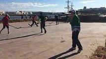 #Streethockey #Canadacup SVQ La première ligue de Street Hockey fut créée en 1960 au Canada. Le Street-hockey est un sport très similaire au hockey sur glace ma