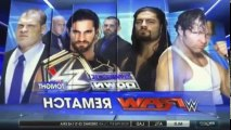 WWE Friday Night SmackDown! S17 - Ep22 Main event Dean Ambrose & Roman Reigns vs. Kane & WWE World Heavyweight Champion Seth Rollins(Wilkes-Barre, PA) -. Part 02 HD Watch