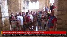 Antalya Noel Baba ve Myra'ya Ziyaretçi Akını