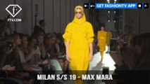 Milan Fashion Week Spring/Summer 2019 - Max Mara   FashionTV   FTV