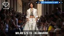 Milan Fashion Week Spring/Summer 2019 - Blumarine   FashionTV   FTV