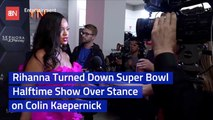 Rihanna Blows Off The Super Bowl