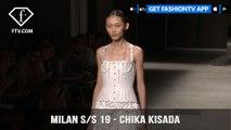 Milan Fashion Week Spring/Summer 2019 - Chika Kisada | FashionTV | FTV