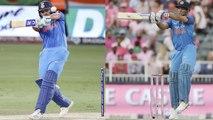 India VS West Indies 1st ODI: Rohit Sharma hits the winning six like MS Dhoni | वनइंडिया हिंदी
