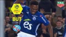 But Lebo MOTHIBA (84ème) / RC Strasbourg Alsace - AS Monaco - (2-1) - (RCSA-ASM) / 2018-19