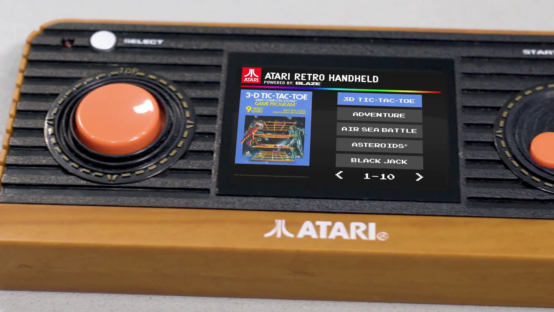 Atari Retro, la nueva consola portátil Atari 2600 con 50 juegos