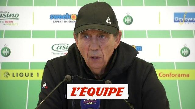 Subotic touché aux adducteurs - Foot - L1 - Saint-Etienne