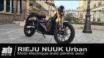 Rieju Nuuk Moto électrique avec permis auto ESSAI