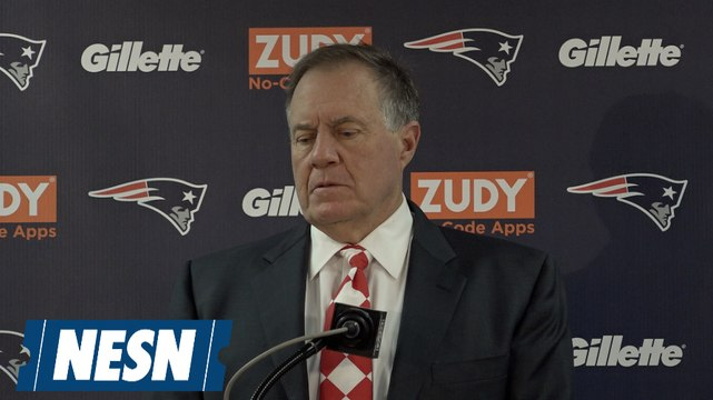 Bill Belichick Patriots vs. Bears Week 7 Postgame Press Conference