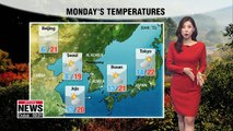 Wide temperature differences, thick fog in inland regions _ 102218