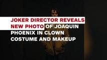Joker Director Reveals New Photo of Joaquin Phoenix in Clown Costume and Makeup - IGN News