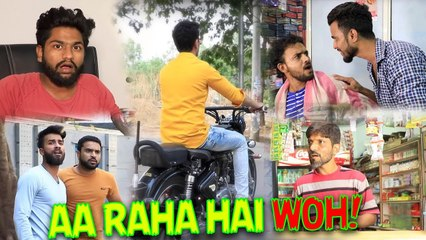 Aa Raha Hai Woh! || Kiraak Hyderabadiz Surprise Video || Kiraak Hyderabadiz!