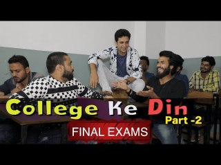 Final Exams || College ke din part 2 || Kiraak Hyderabadiz