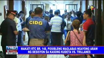 Makati RTC br 148, posibleng maglabas ngayong araw ng desisyon sa kasong kudeta vs Trillanes