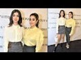Janhvi And Khushi Kapoor Look Stunning At The Louis Vuitton Store Launch Event