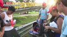 Immigration : les Honduriens poursuivent leur marche vers les Etats-Unis