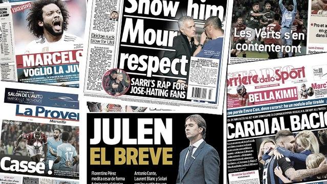 Maurizio Sarri prend la défense de Mourinho, Mauro Icardi enflamme la presse italienne