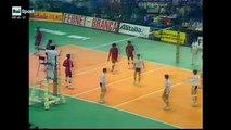 Italia - Cuba, quarto e decisivo set della semifinale dei Mondiali maschili di Volley 1978