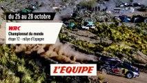 RALLYE D'ESPAGNE, bande-annonce - AUTO - WRC