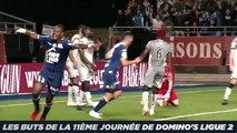 Les buts de la 11ème journée de Domino's Ligue 2