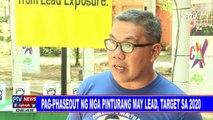 Pag-phaseout ng mga pinturang may lead, target sa 2020