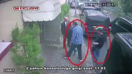 Surveillance footage shows Saudi operative in Khashoggi's clothes after he was killed - Turkish sources
