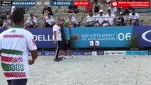 Europétanque des Alpes-Maritimes 2018, 16ème Bruno ROCHER vs Madagascar