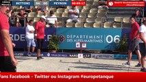 Europétanque des Alpes-Maritimes 2018, 16ème BETTONI vs PEYRON