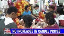 No increases in candle prices