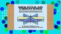 Popular Molecular Vibrations: The Theory of Infrared and Raman Vibrational Spectra (Dover Books on
